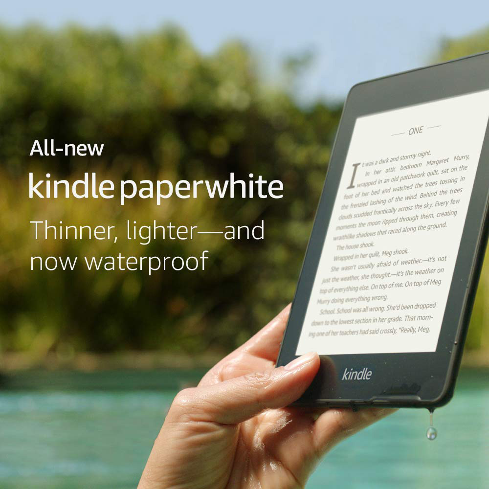Kindle Paperwhite 2018 32GB Black 6 Inch