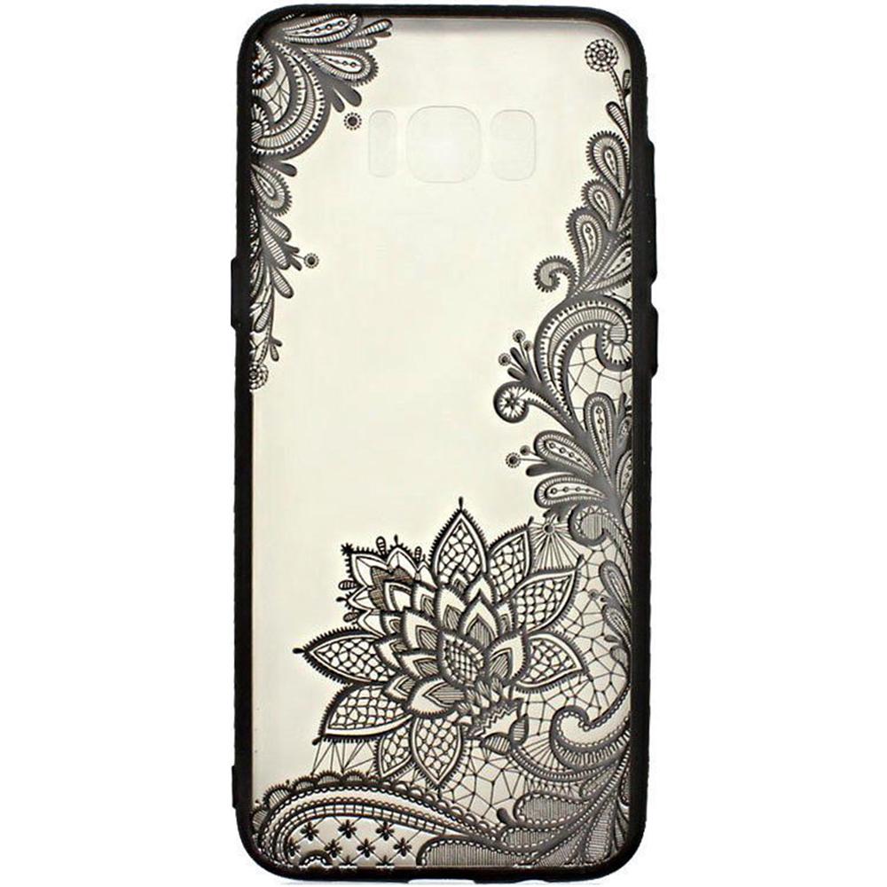 quality design 1150a 8a1fb Phone Cases Lace Design 4 Back cover Black HUAWEI P8 Lite 2017, P9 ...