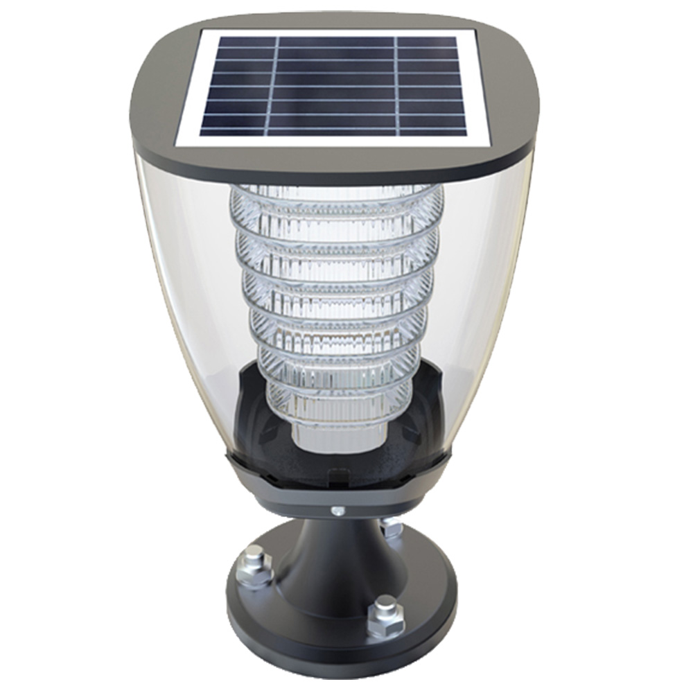 100LM Cup Design Solar Post Light