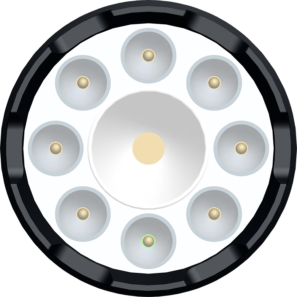 NEWBITS Lanterna Anti Revolte 911 Cu 4G LTE Si GPS