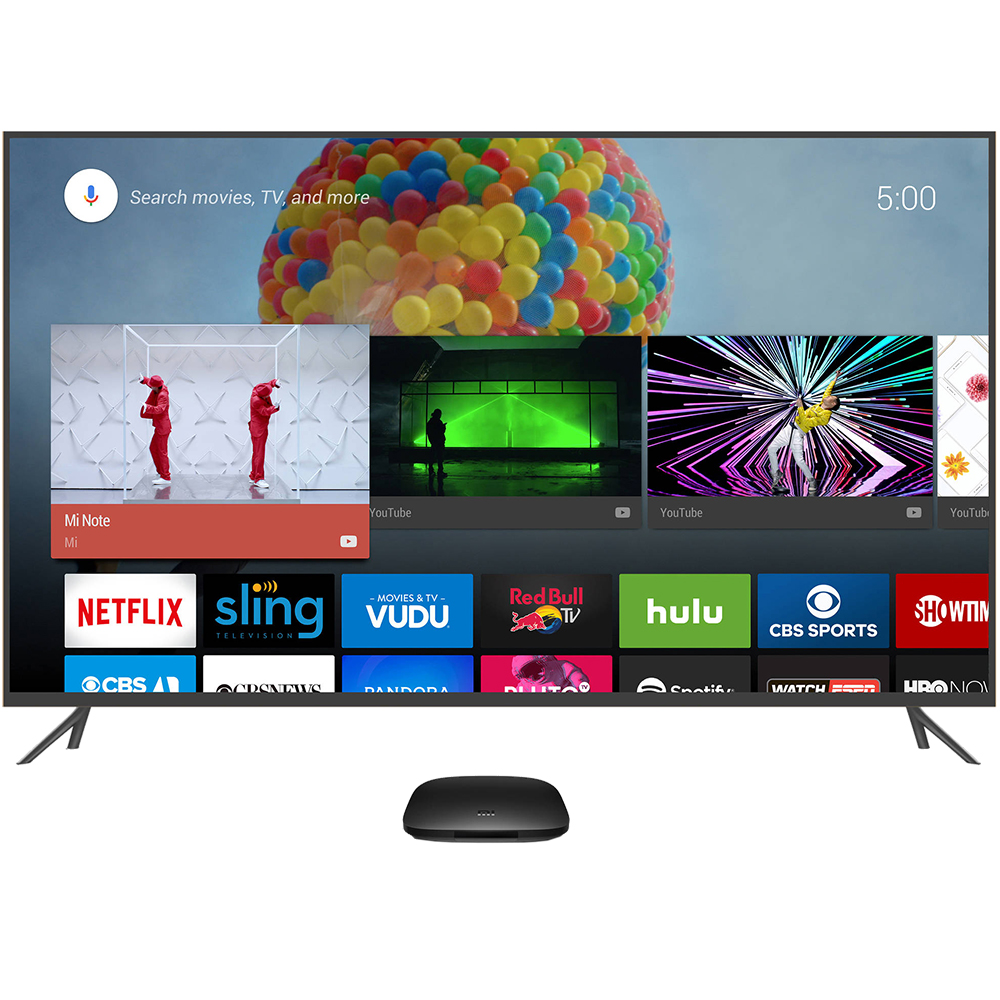 Tv Mediaplayers Mi Box Tv 4k With Voice Control 156731