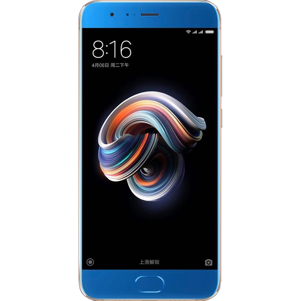 Mi Note 3 Dual Sim 64GB LTE 4G Blue 6GB RAM