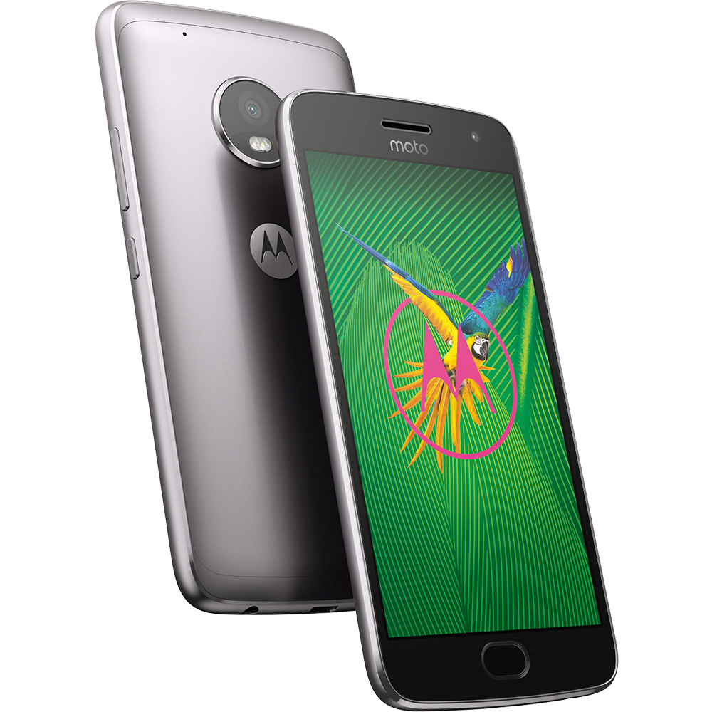 Mobile Phones Moto G5S Plus Dual Sim 64GB LTE 4G Grey 4GB