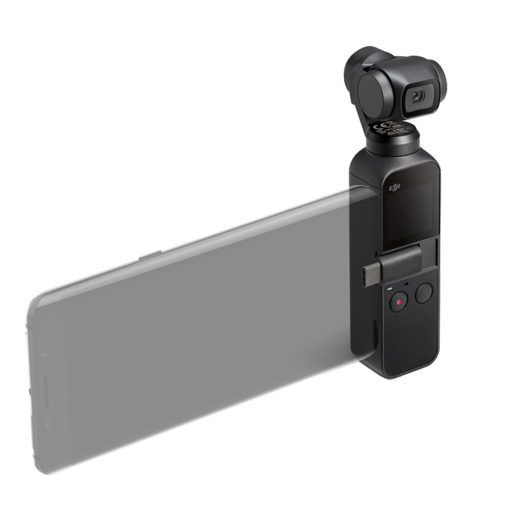 DJI Osmo Pocket Stabilizator 3-Axis Cu Camera Incorporata