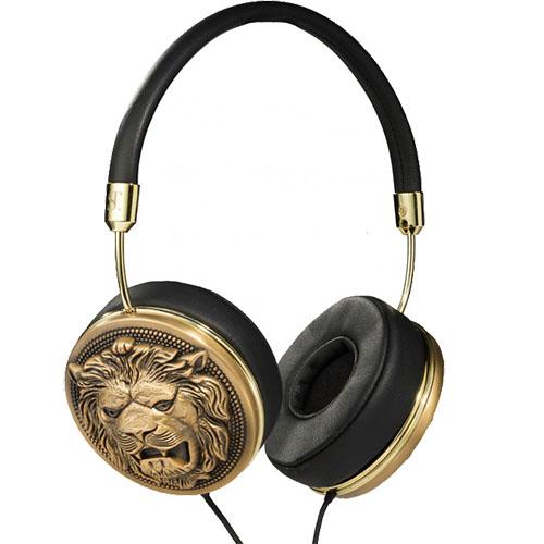 Over Ear Taylor Supertrash Lions Head Headphones with Mic Pentru toate telefoanele iPhone