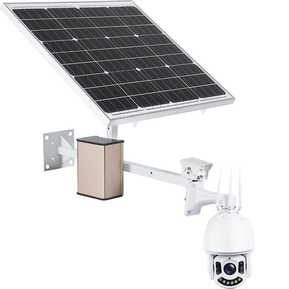 NEWBITS Panou Solar 60W Cu Baterie Externa 30.000 mAh Model ASP1+AB1