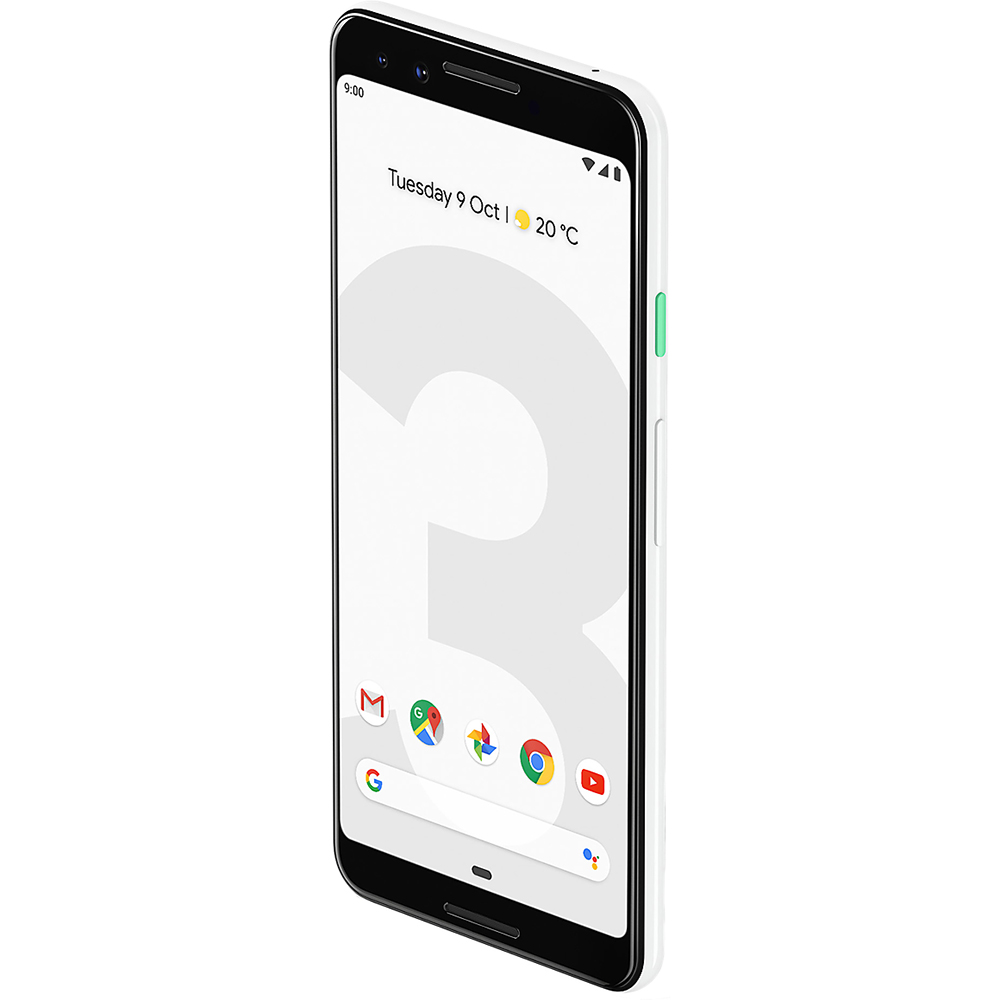 Pixel 3   128GB LTE 4G White  6GB RAM