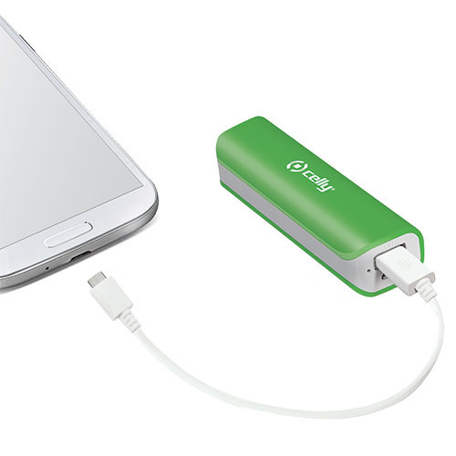 Power bank 2600 MAH Green