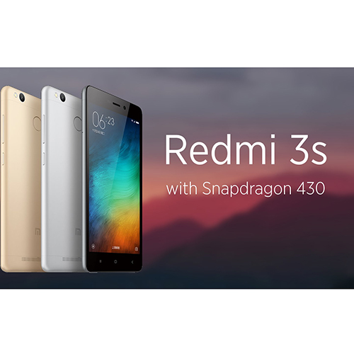 Mobile Phones Redmi 3s Dual Sim 32GB LTE 4G Black Silver 3GB