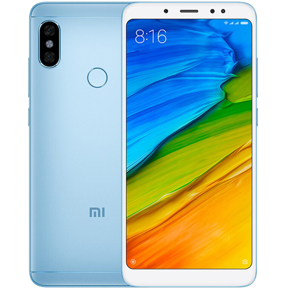 Redmi Note 5  Dual Sim 64GB LTE 4G Blue  6GB RAM