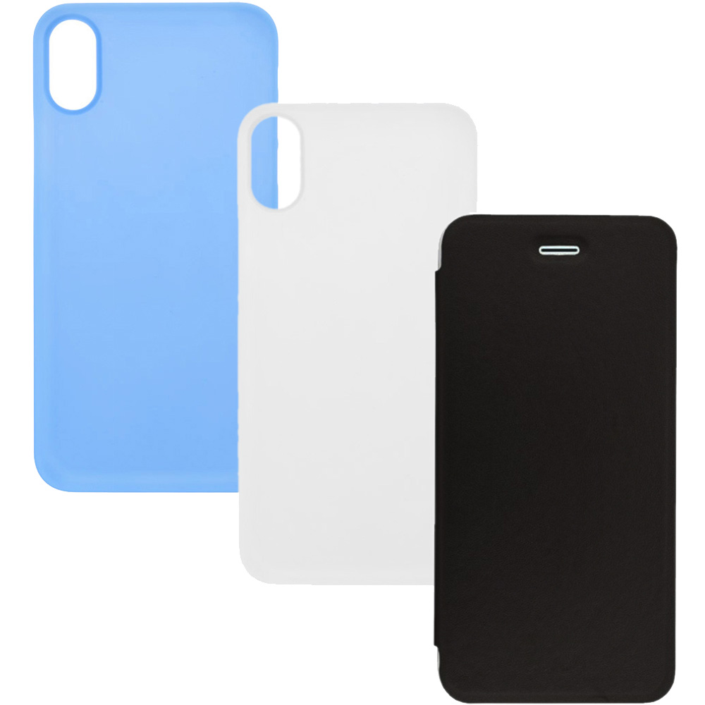 Combo1 Set Case 2+1 free APPLE iPhone X, iPhone Xs