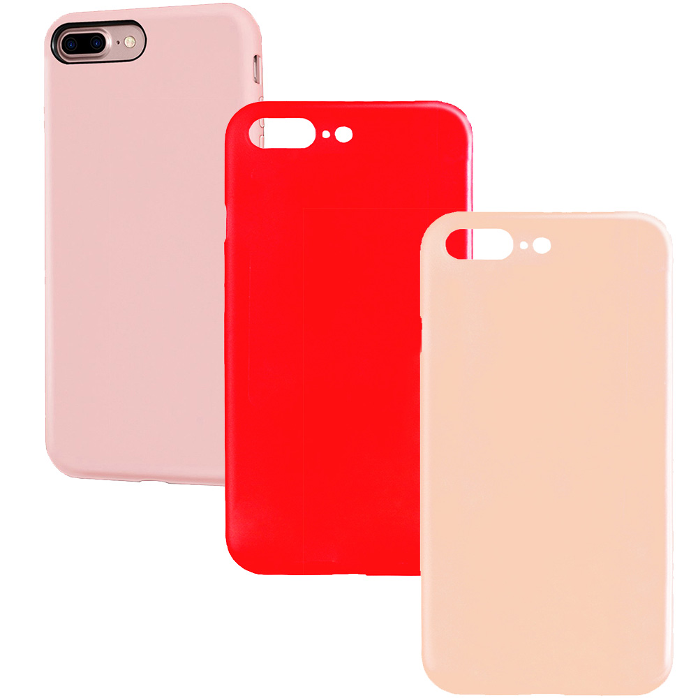 Combo5 Set Case 2+1 Free Apple iPhone 7 Plus, iPhone 8 Plus