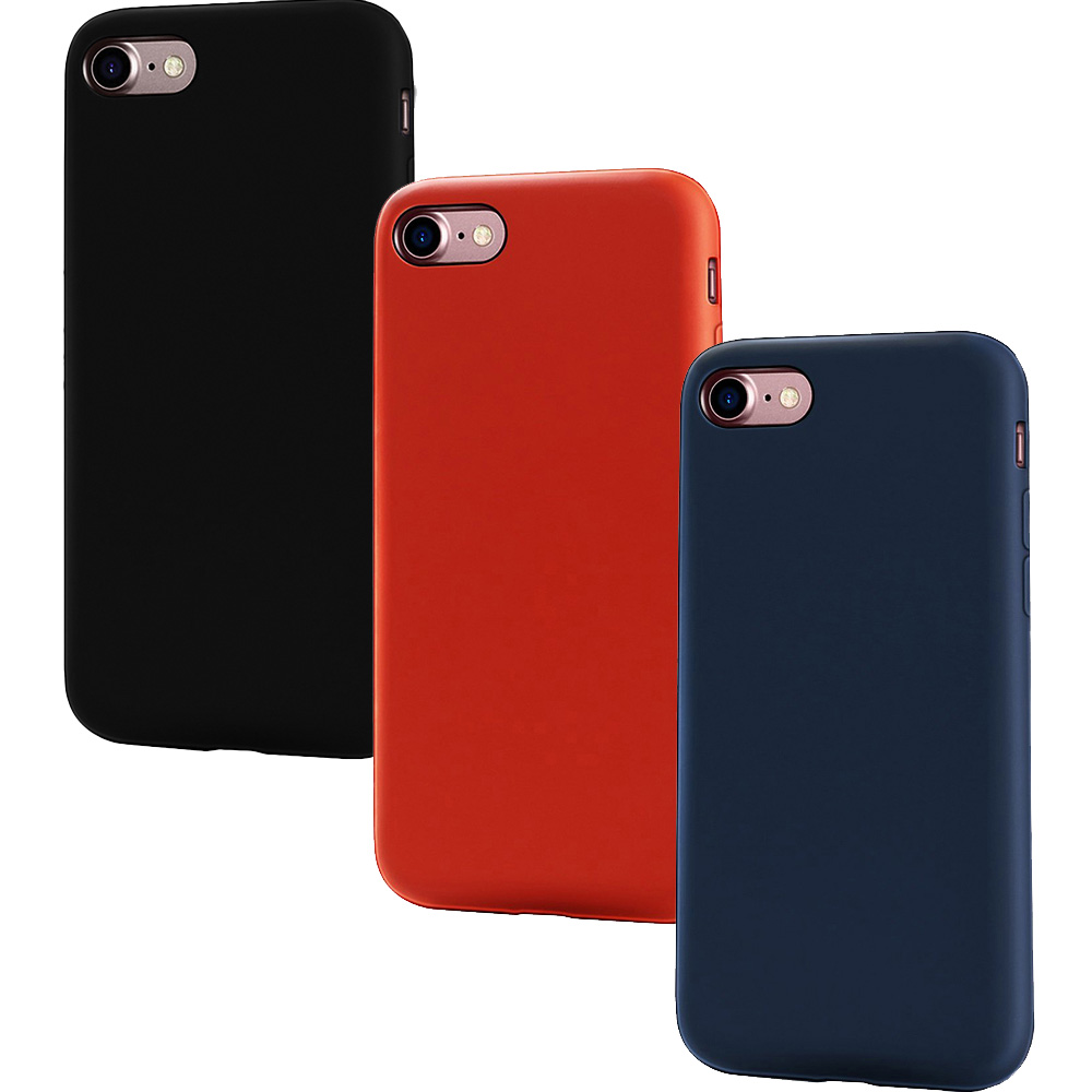 Combo7 Set Case 2+1 Free Apple iPhone 7, iPhone 8