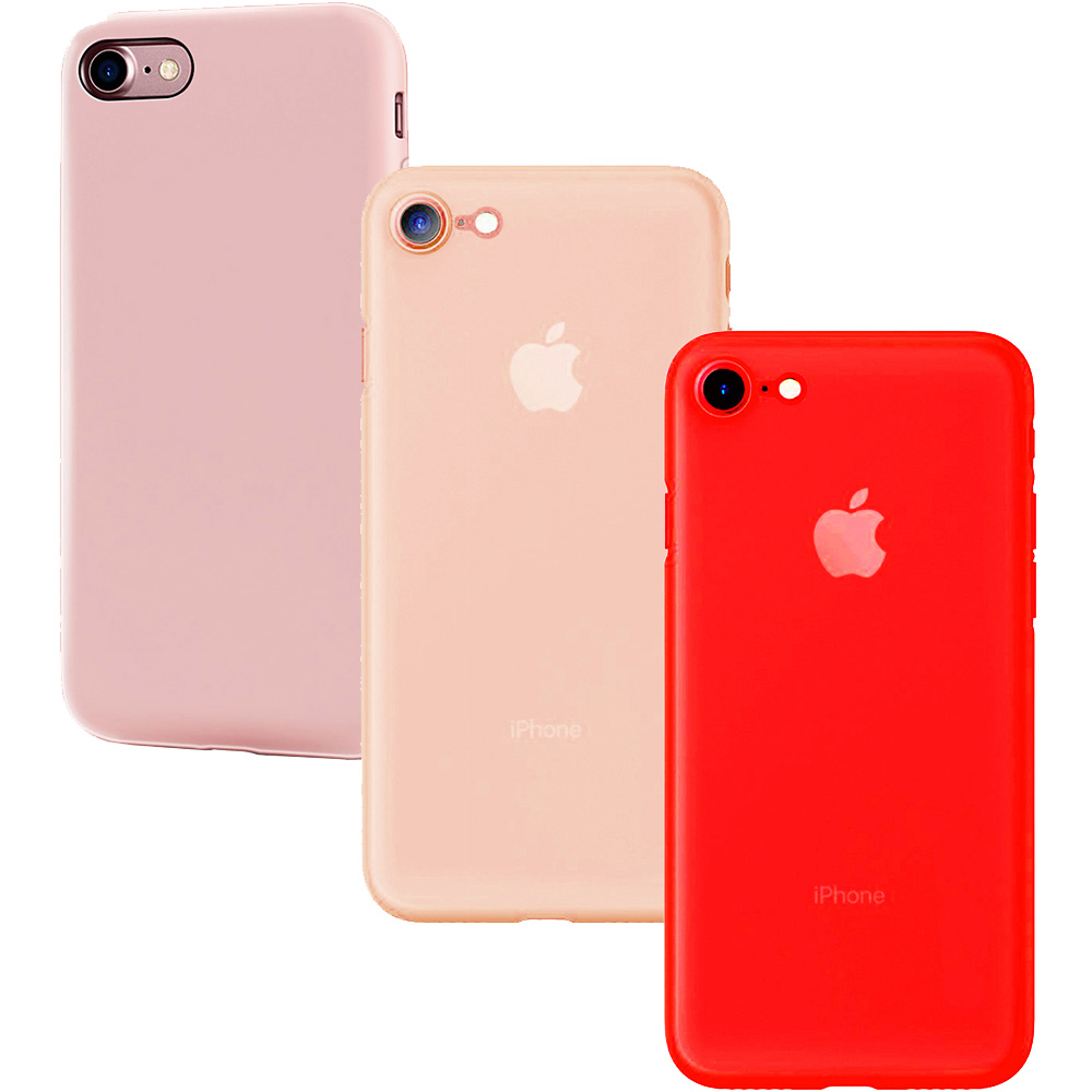 Combo8 Set Case 2+1 Free Apple iPhone 7, iPhone 8