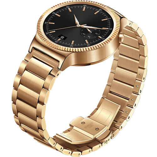 42MM Gold Stainless Steel Case And Gold Metal Link Band
