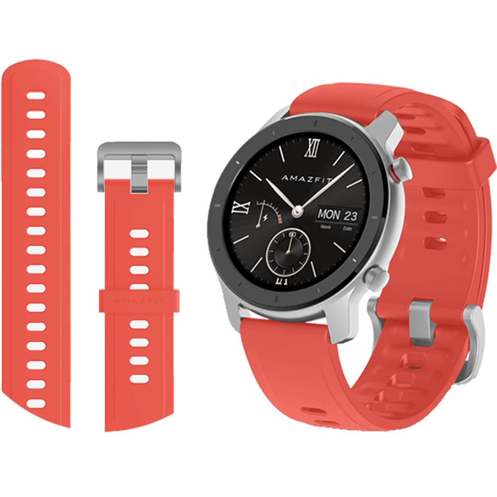 XIAOMI Smartwatch Amazfit GTR 42 mm Coral Red Rosu