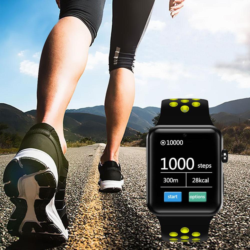 STAR Smartwatch Exclusive Negru Si Curea Sport Negru Verde DM09PLUS