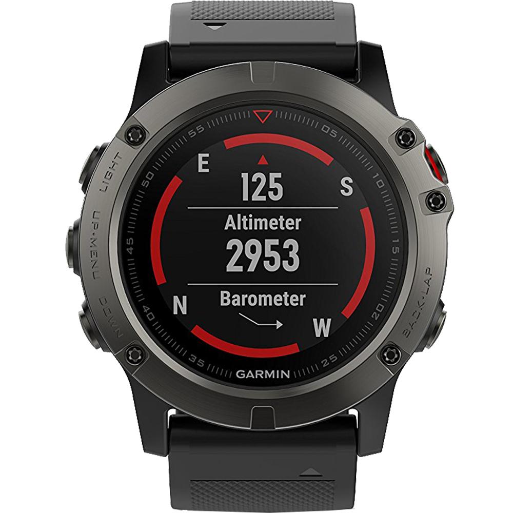 Smartwatch Fenix 5x Sapphire Edition Fenix 5x Sapphire Edition Stainless Steel Grey