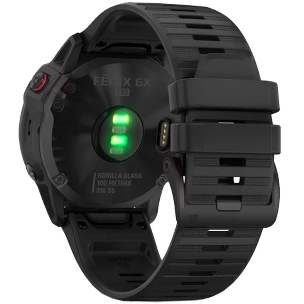 Fenix 6X Pro Black With Black Band