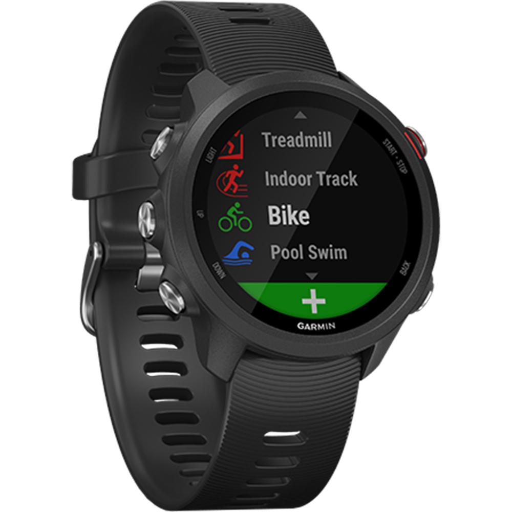 GARMIN Smartwatch Forerunner 245 Music GPS Running Negru 010-02120-A0