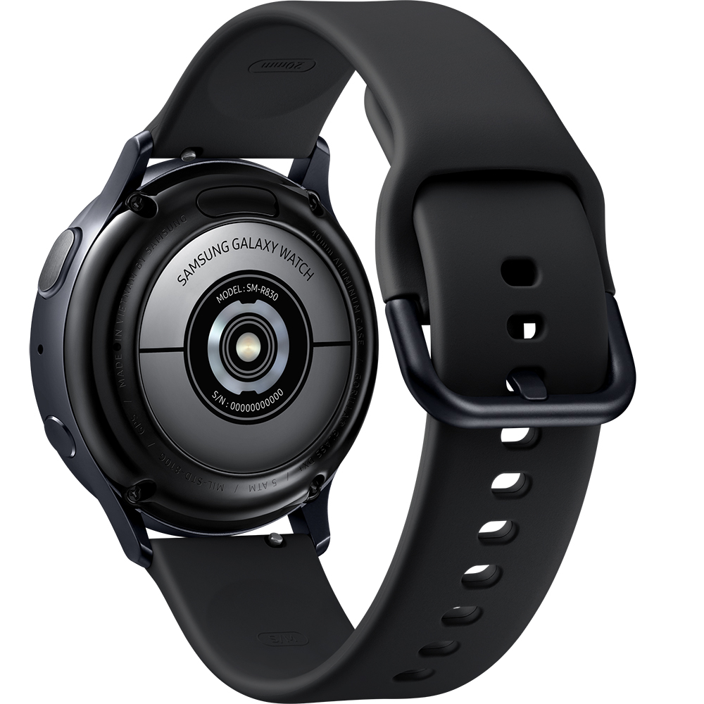 Galaxy Watch Active 2 Aluminium Aqua 44mm Black