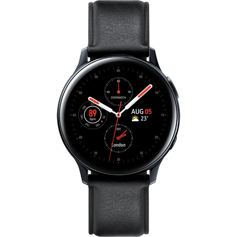 SAMSUNG Smartwatch Galaxy Watch Active 2 Otel Inoxidabil 44mm Negru R820