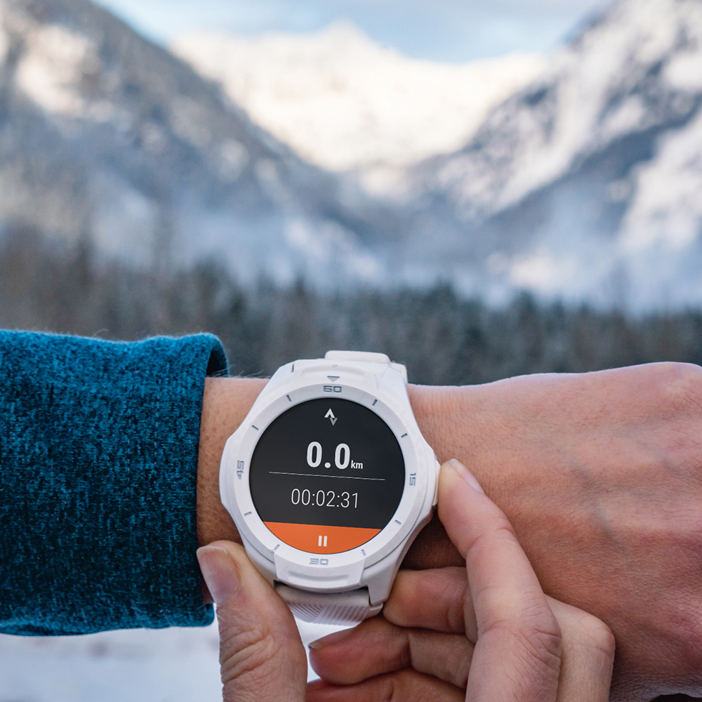 Smartwatch S2 Waterproof With HR Monito  White
