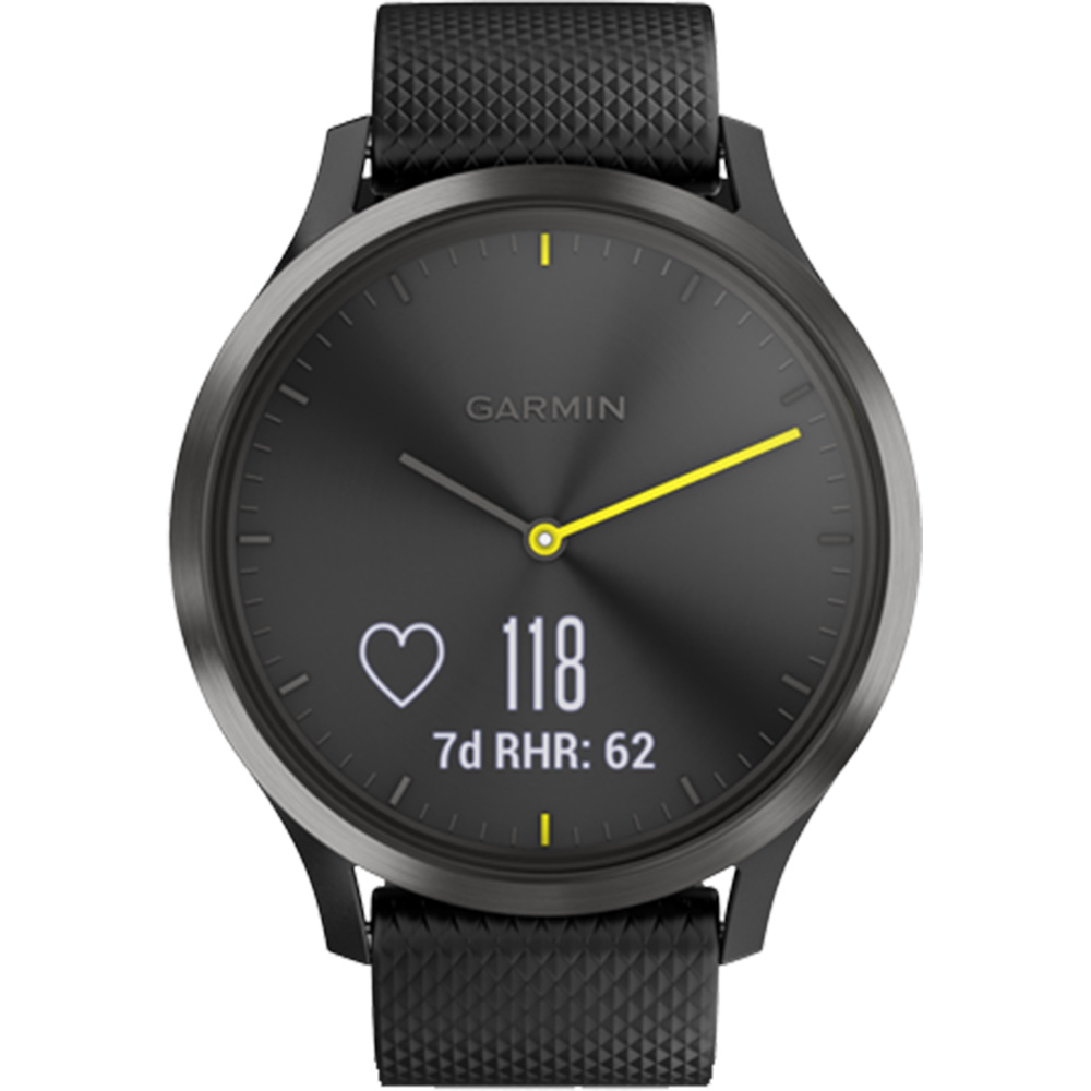 Smartwatch Vivomove HR Black With Black Band