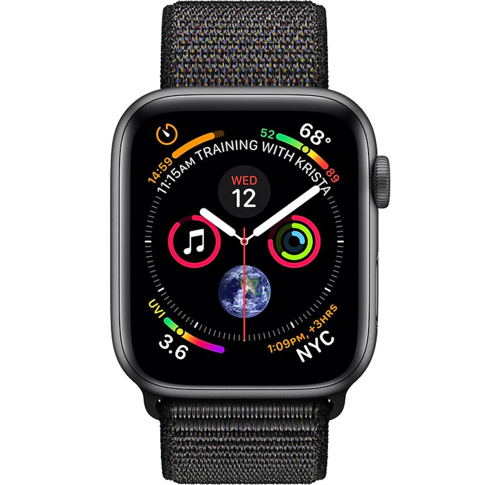 Watch 4 GPS 40MM Black Aluminium And Black Loop Band