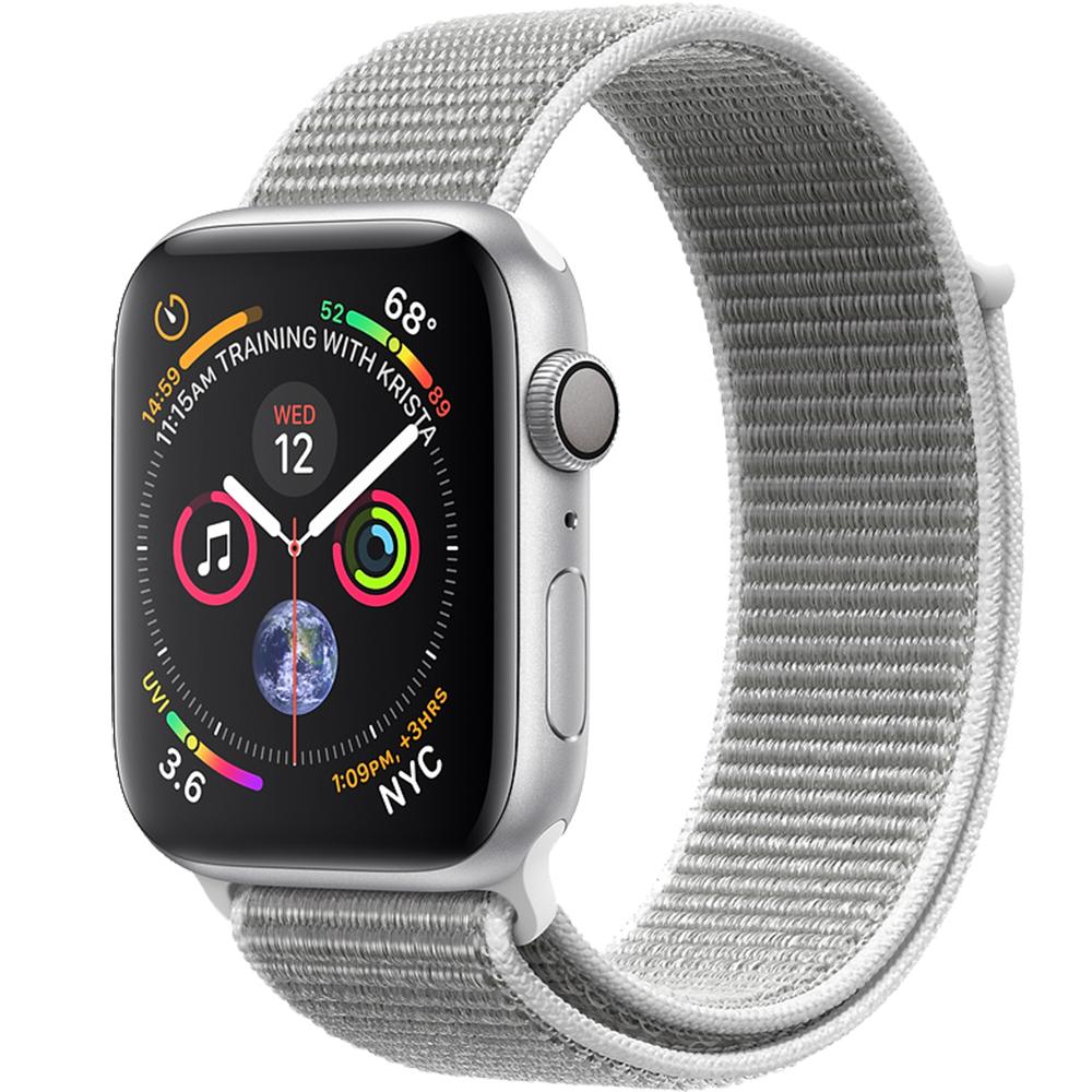 Watch 4 GPS 44MM Silver Aluminium And Silver Loop Band