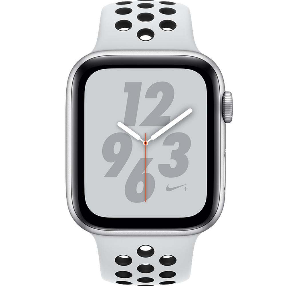 Watch 4 Nike Plus GPS 40MM Silver Aluminium And Platinum Black Sport Band