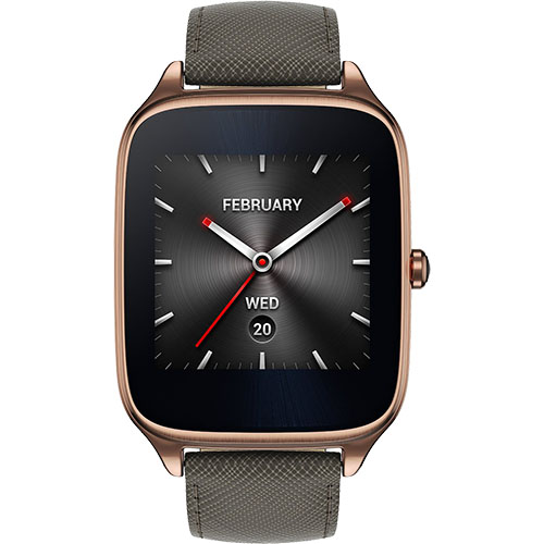 Image result for Asus Zenwatch 2 Gold Case Smartwatch