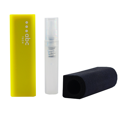 Screen Cleaning Travel Kit Yellow