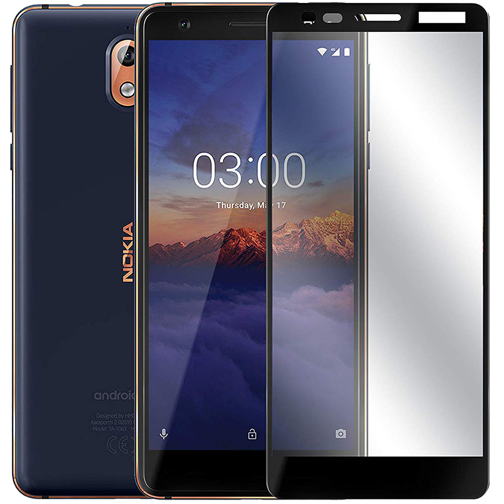 Full Body Glass Screen Protector 2.5D NOKIA 3.1