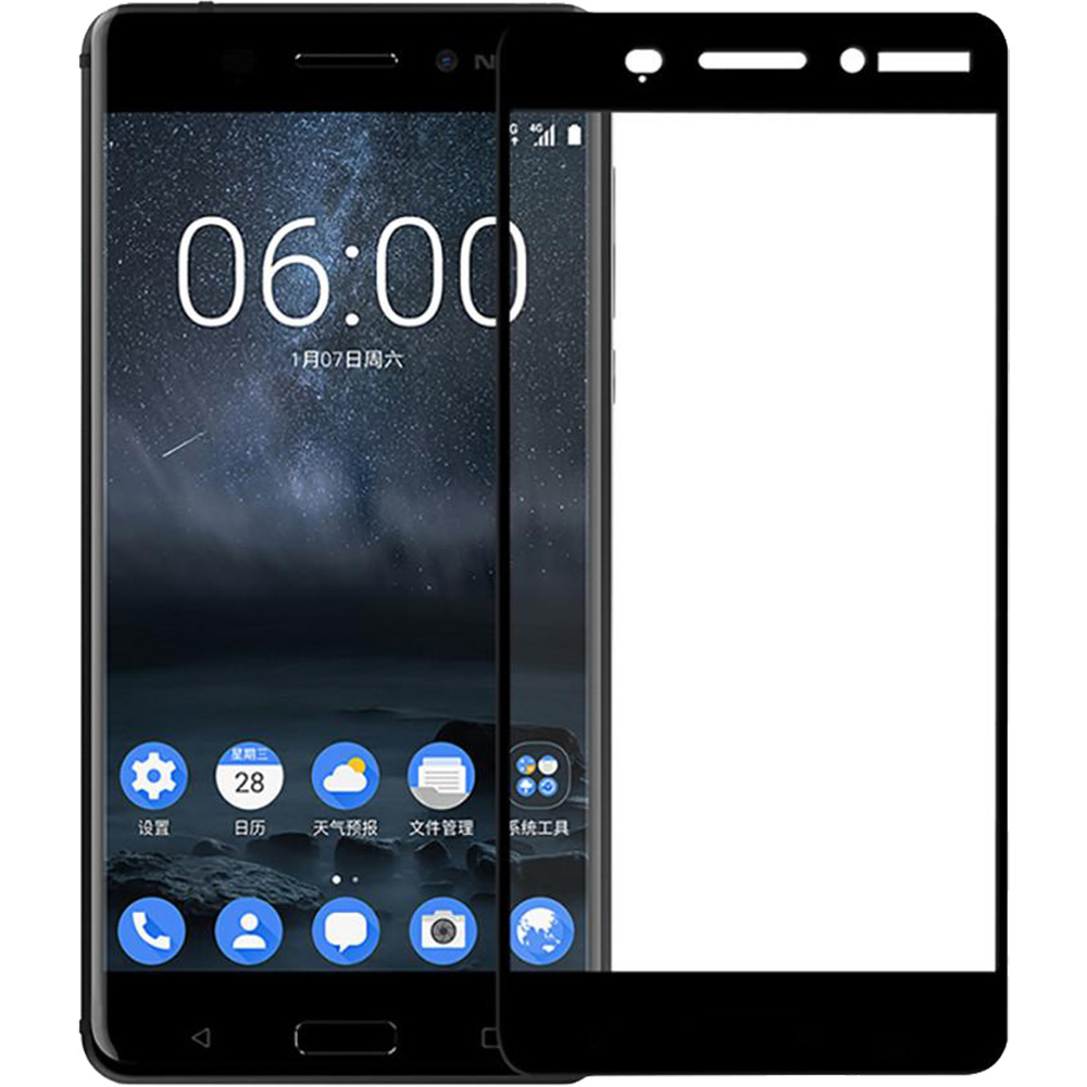 Full Body Glass Screen Protector 2.5D NOKIA 6.1