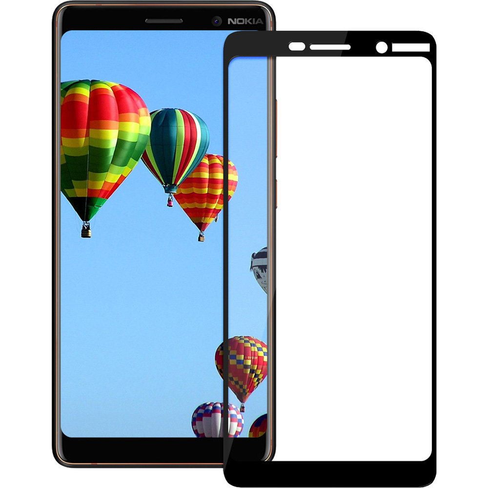 Full Body Glass Screen Protector 2.5D NOKIA 7 Plus