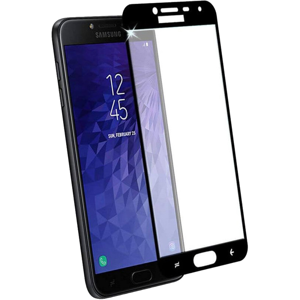 Full Body Glass Screen Protector 2.5D SAMSUNG Galaxy j4 2018