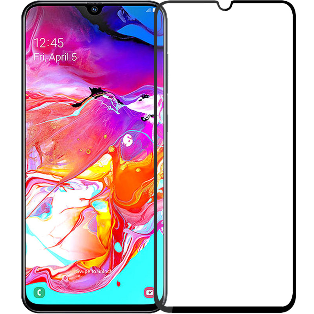 Sticla Securizata Full Body 2.5D ZMEURINO ZMTEMPFULL_SGA70BK SAMSUNG Galaxy A70
