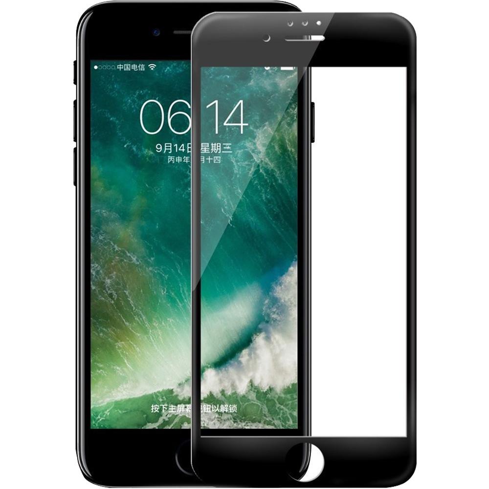 Sticla Securizata Full Body 3D Curved ZMEURINO Negru ZMTEMP3D_IPH6/7/8PLUSBK Apple iPhone 7 Plus, iPhone 8 Plus