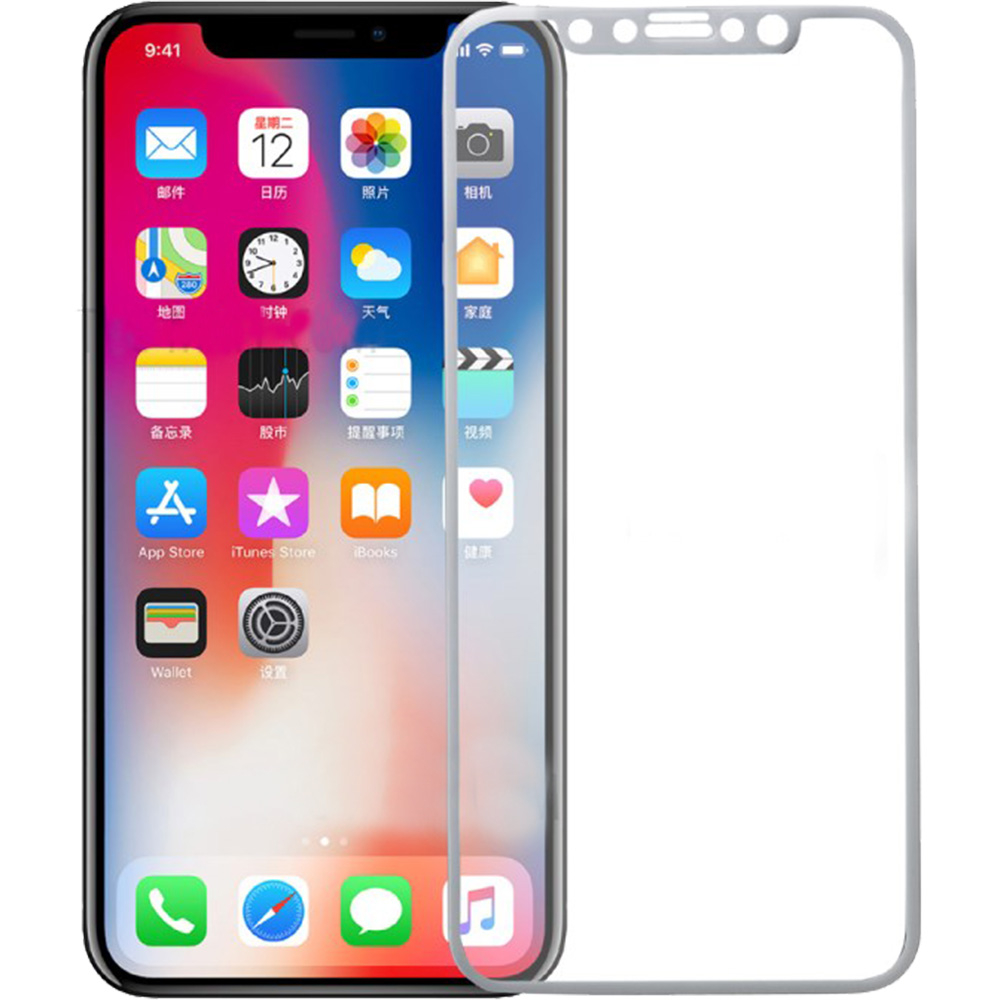 Sticla Securizata Full Body 3D Curved ZMEURINO Alb CLVTEMPCFULLIPHXWH APPLE iPhone 11 Pro, iPhone X