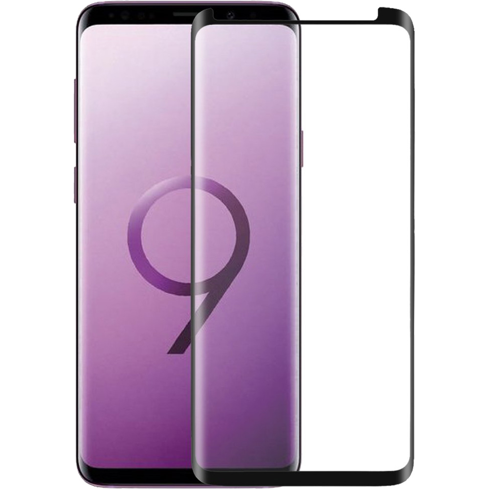 Full Body Glass Screen Protector Curved, Case Friendly SAMSUNG Galaxy S9
