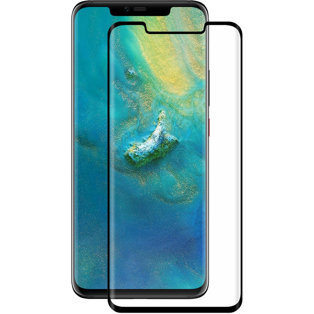 Sticla Securizata Full Body Curved ZMEURINO Negru VTEMP_MATE20PROBK HUAWEI Mate 20 Pro