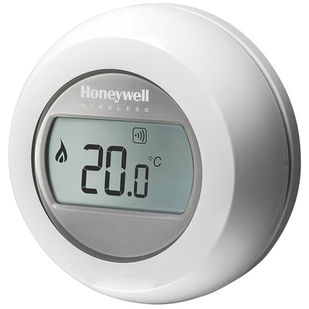 intelligent thermostats and air conditioning thermostat wireless white 162709 quickmobile. Black Bedroom Furniture Sets. Home Design Ideas