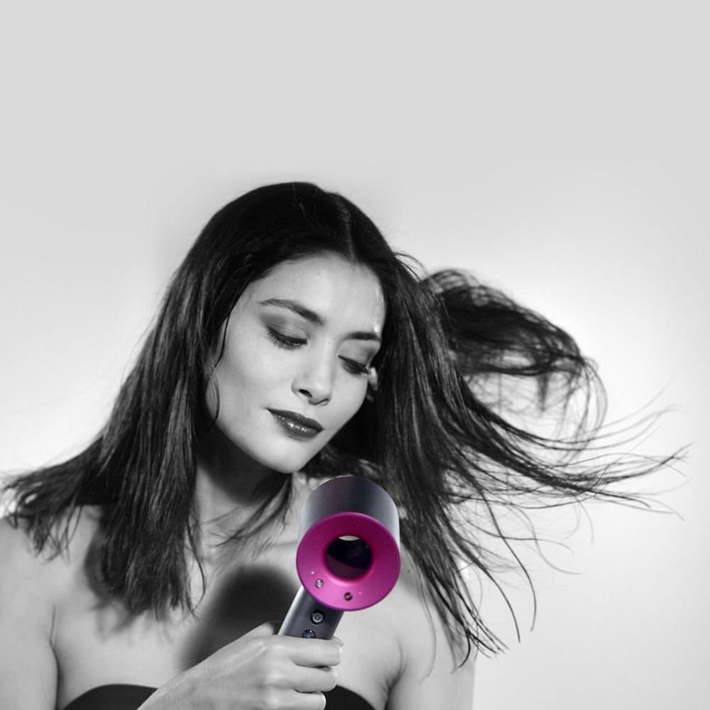 Supersonic Hair Dryer Pink Grey