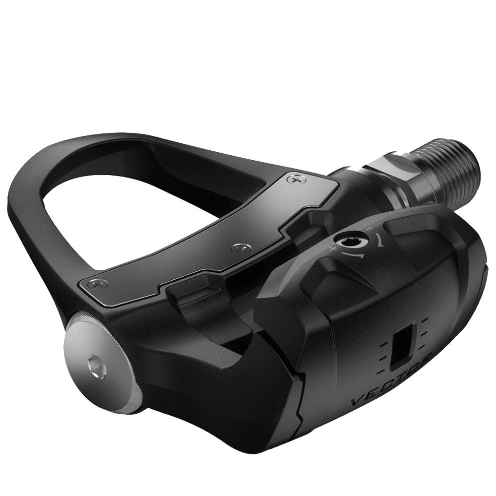 Vector 3S Dual Sensor Power Meter Bike Pedals Black