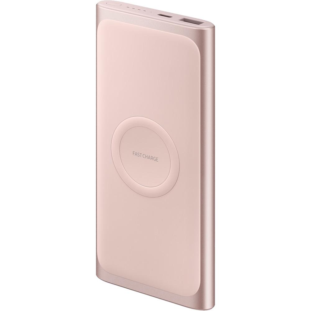 Baterie Externa SAMSUNG Wireless Type C 10000 mAh Fast Charge EB-U1200CPEGWW Roz